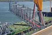 Port of Montreal receives two new post-Panamax electric gantry cranes