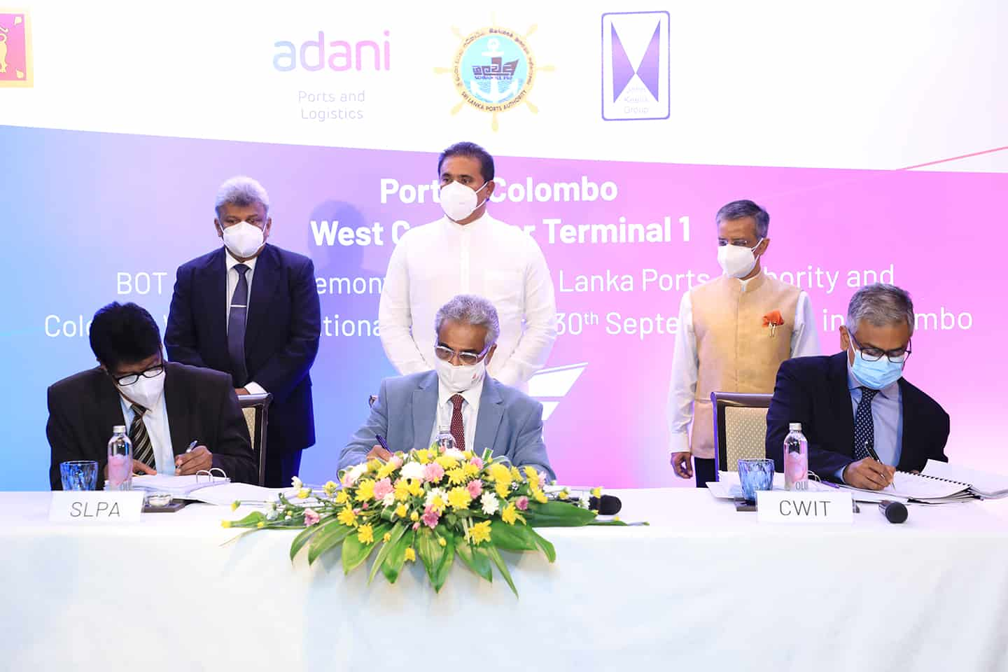 Adani signs US$700m agreement for new deep-water terminal in Colombo
