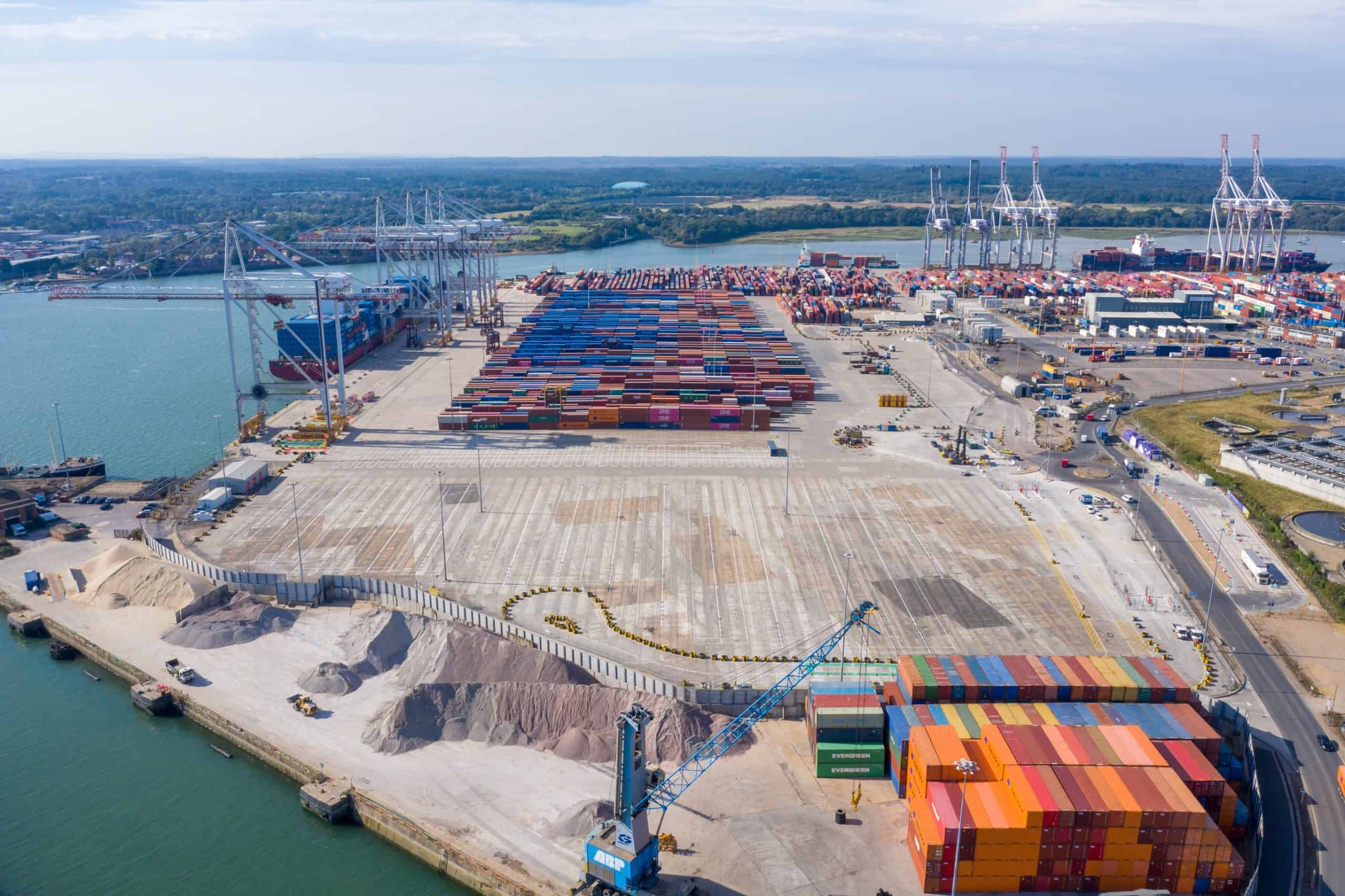 DP World opens empty container park in Southampton