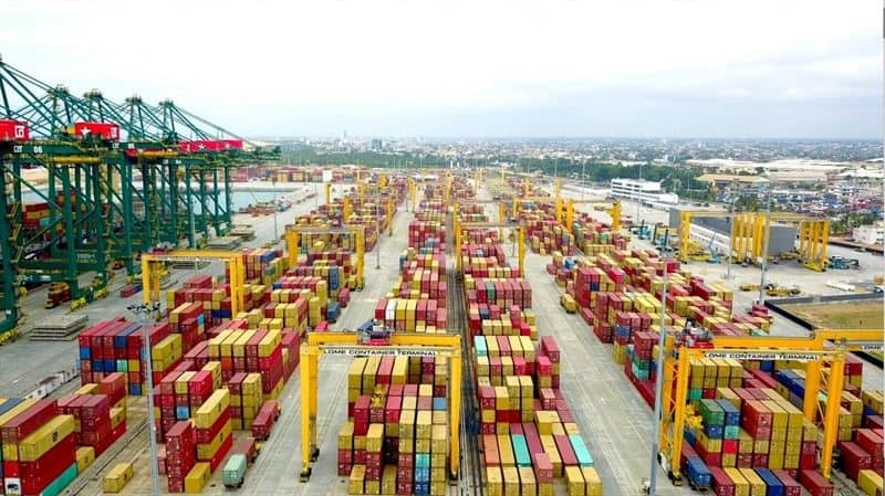 Lomé Container Terminal orders five RTGs from Konecranes