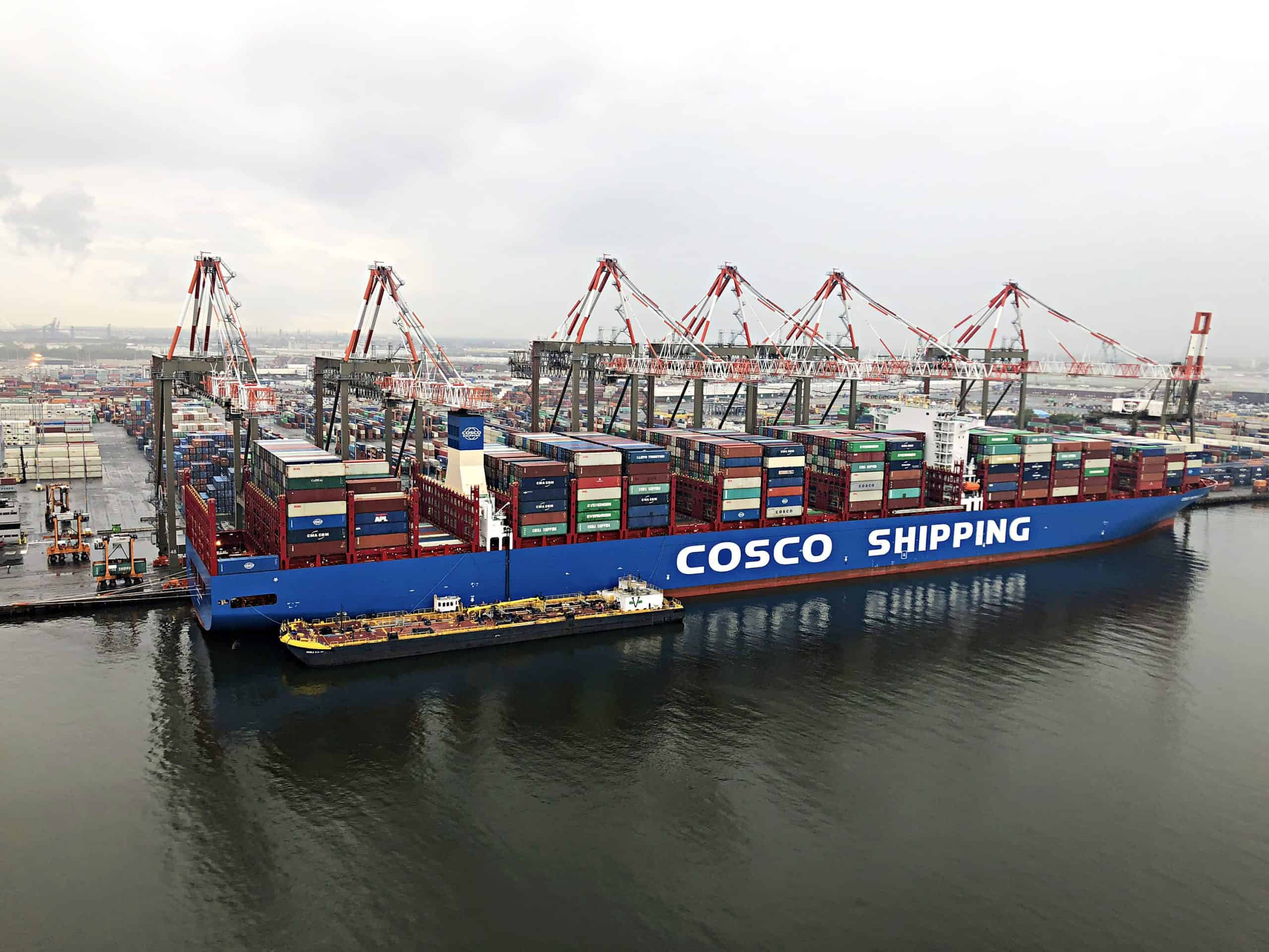 Maher Terminals orders three STS cranes from Liebherr